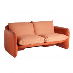 Sofa Mara, structure orange, Slide