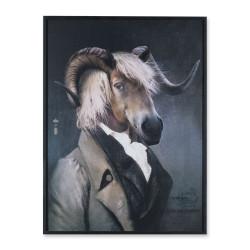 Chatterton, portrait série limitée, Ibride, Taille XL, L73,5 x H98 x P4 cm