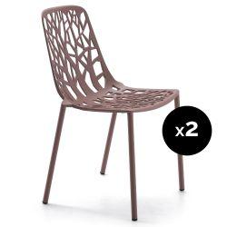 Lot de 2 chaises design Forest, Fast