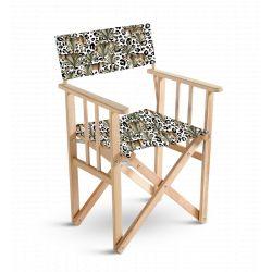 Chaise metteur en scène feuille, collection Orient extrême, Pôdevache