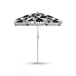 Parasol Palmiers noir et blanc, collection On dirait le sud, Pôdevache