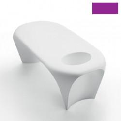 Table basse design Lily avec bac à glace, MyYour violet