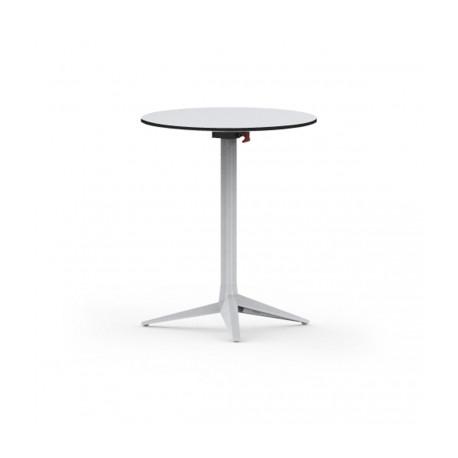 Plateau de table Faz, Vondom blanc,bordure blanche Diamètre 69 cm