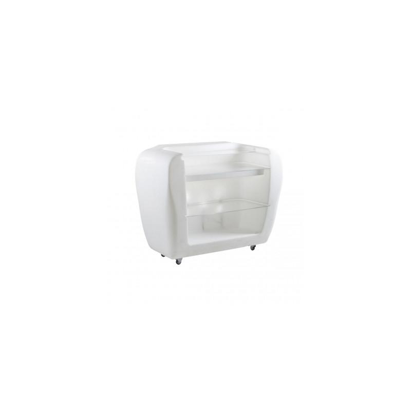 comptoir lumineux move proselec blanc cerise sur la deco. Black Bedroom Furniture Sets. Home Design Ideas