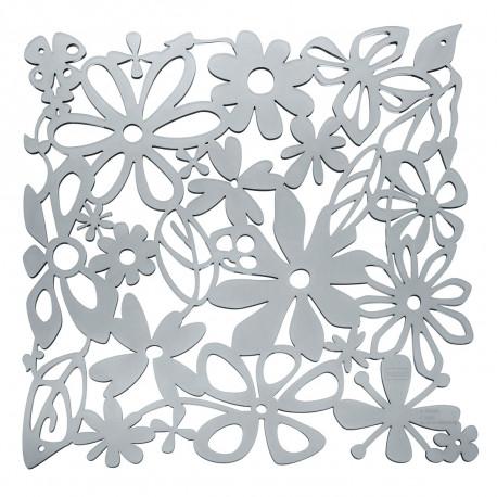 20 carrés séparations design Alice, Koziol gris anthracite transparent