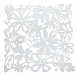 20 carrés séparations design Alice, Koziol cristal transparent