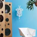 Horloge Cucù laquée, Diamantini & Domeniconi blanc