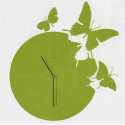 Horloge Butterfly, Diamantini & Domeniconi vert laqué
