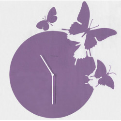 Horloge Butterfly, Diamantini & Domeniconi violet parme laqué