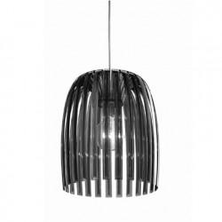 Suspension Josephine, Koziol gris anthracite transparent Taille M