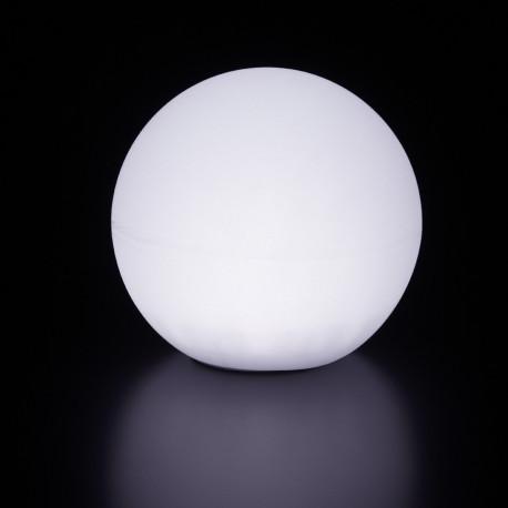 Lampe d'extérieur Globo Out , Slide Design blanc Diamètre 200 cm