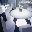 Table lumineuse Ed, Slide Design blanc