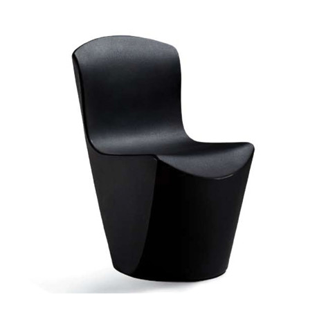 Chaise Zoe, Slide Design noir