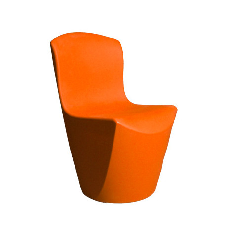 Chaise Zoe, Slide Design orange