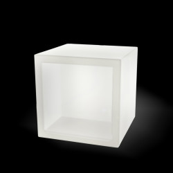 Cube lumineux Open Cube, Slide Design blanc