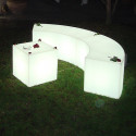 Banc design Snake Out, Slide Design blanc
