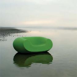 Fauteuil design Chubby, Slide Design vert