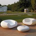 Fauteuil design Chubby, Slide Design blanc