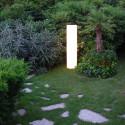 Colonne lumineuse Cilindro Out, Slide Design blanc Diamètre 40 cm