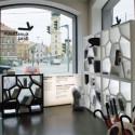Etagère design Opus Incertum, Casamania gris argent