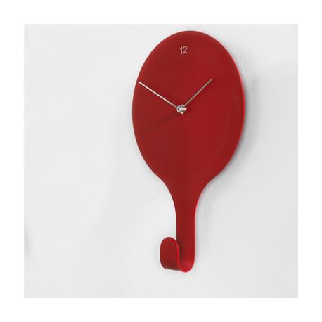 Horloge En Suspend, Diamantini & Domeniconi rouge