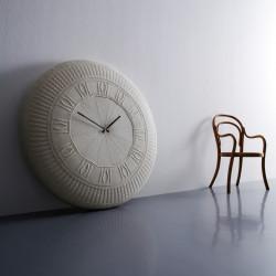 Grande Horloge Coton Gomitolo, Diamantini & Domeniconi blanc écru