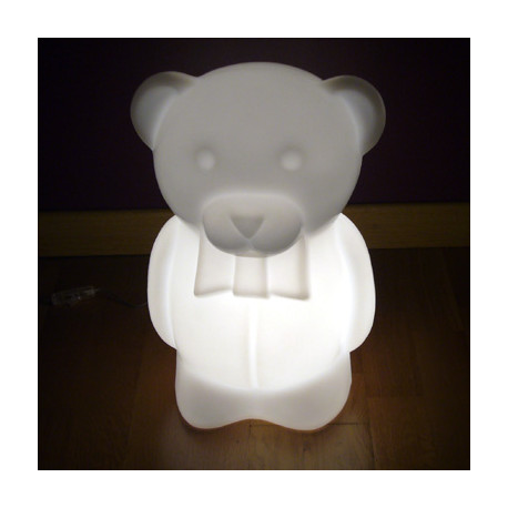 Blanc Lampe Junior Ourson PoserSlide À Design 6f7yYgvb
