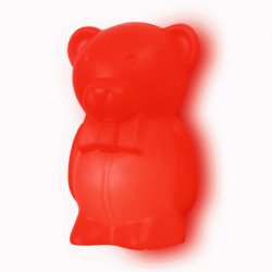 Lampe murale Junior Ourson, Slide Design rouge