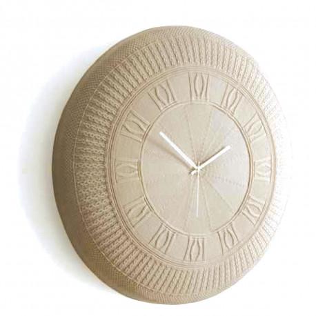 Horloge coton Gomitolo, Diamantini & Domeniconi écru