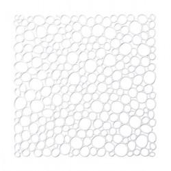 20 carrés séparations design Oxygen, Koziol blanc opaque