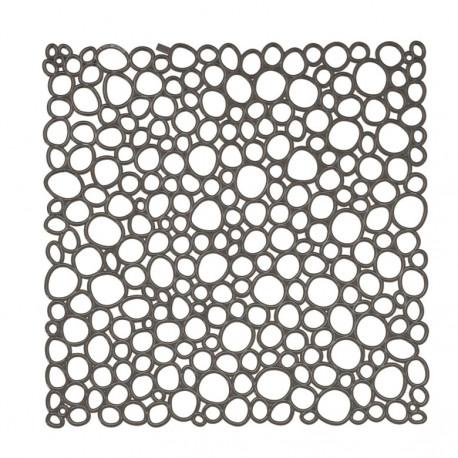 20 carrés séparations design Oxygen, Koziol gris anthracite transparent