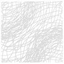 20 carrés séparations design Silk, Koziol blanc opaque