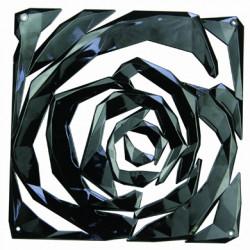 20 carrés séparations design Romance, Koziol noir opaque