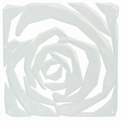 20 carrés séparations design Romance, Koziol blanc opaque