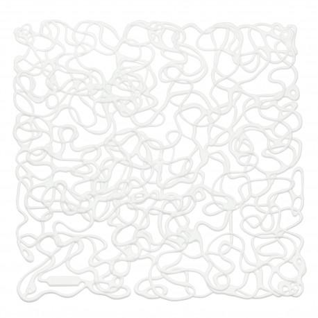 20 carrés séparations design Fusion, Koziol blanc opaque