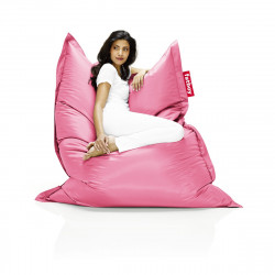 Pouf Fatboy Original, pouf salon design rose brillant