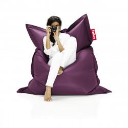 Pouf Fatboy Original, pouf salon design violet foncé