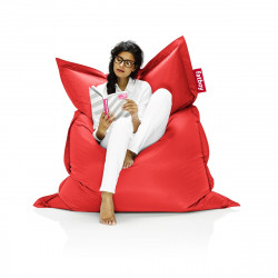 Pouf Fatboy Original, pouf salon design rouge