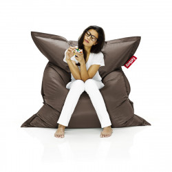 Pouf Fatboy Original, pouf salon design marron