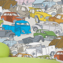 Papier peint design Car wreck Domestic