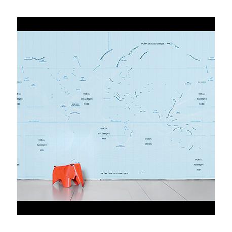 Papier peint Panoramique Ocean, Domestic bleu ciel