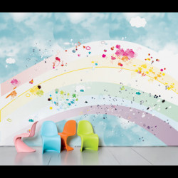 Papier peint enfant Rainbow Domestic