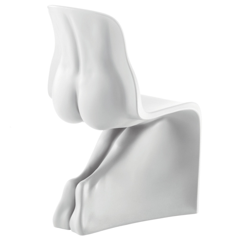 Chaise Design Her Casamania Blanc Mat