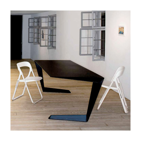 Table futuriste N7 Casamania noir