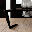 Table futuriste N7 Casamania blanc