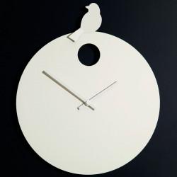 Horloge Free Bird, Diamantini & Domeniconi horloge blanche, oiseau blanc
