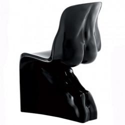 Chaise HER Casamania noir laqué