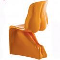 Chaise HER Casamania orange laqué