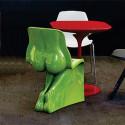 Chaise HER Casamania vert clair laqué