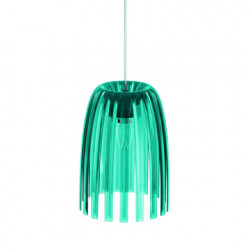 Suspension Josephine, Koziol bleu pétrole transparent Taille S